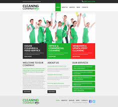 cleaning services joomla template 52683