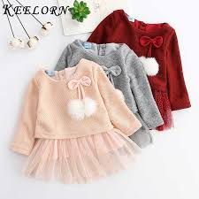 Keelorn Baby <b>Girl Dress</b> 2019 <b>New Autumn girls dress</b> Fashion ...