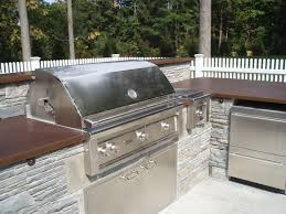 Countertop For Outdoor Kitchen Exterior Concrete Brooks Custom Exterior Concrete Images
