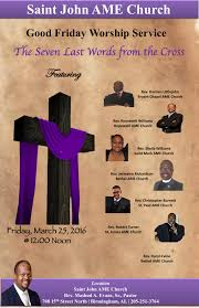 st john ame weekly newsletter 6 00am sunrise worship service metropolitan ame zion church 8 15am church school easter program 9 30am resurrection sunday combined worship service