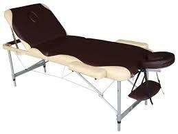 Купить <b>Массажный стол DFC</b> Nirvana Elegant Pro, коричневый ...