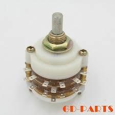 <b>1PCS</b> 2pole 12step ROTARY <b>SWITCH</b> Attenuator Pot Potentiometer ...