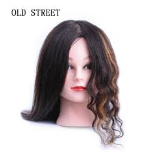 Professional <b>Mannequin</b> Head With Long <b>Synthetic</b> Hair For Barber ...