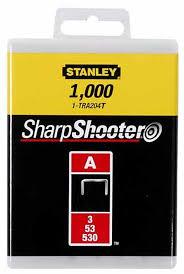 "<b>Скобы</b> для степлера <b>Stanley</b>, <b>тип</b> ""А"" (5/<b>53</b>/530), 8 мм, 1000 шт ..."