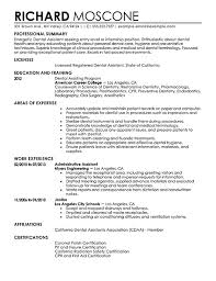 examples of dental assistant resumes | Template examples of dental assistant resumes
