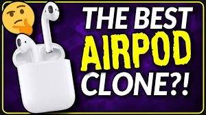 i500 TWS Airpods | The BEST AirPods Clone 2019 - YouTube
