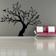 Family <b>Tree Birds</b> Wall Decal <b>Vinyl</b> Art Sticker Living Room <b>Home</b> ...