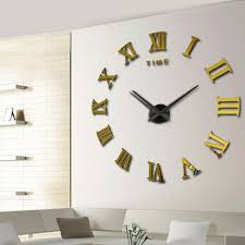 big unique diy wall clocks 3d mirror sticker metal watches large modern wall clock contemporary huge big unique diy wall clocks