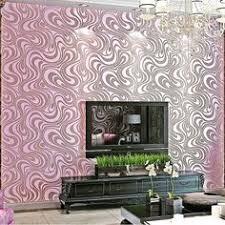 <b>Q QIHANG</b> 3D Abstract Curve <b>Modern Luxury</b> Flocking Striped ...