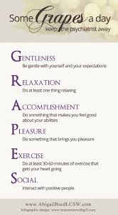 some grapes a day keep the psychiatrist away a self care grapes self care infographic