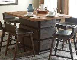 dining room tables homelegance counter height homelegance rochelle counter height dining table dark brown natural