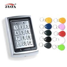 Waterproof <b>Metal Rfid Access Control</b> Keypad With 1000 Users ...
