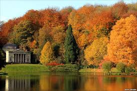 Stourhead Gardens in Autumn
