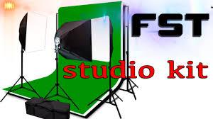 <b>FST STUDIO</b> KIT комплект постоянного <b>света</b> для видеостудии ...