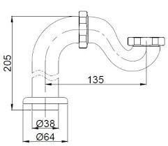 Купить <b>гидрозатвор BelBagno BB567-01-TI-CRM</b> хром в Москве в ...