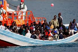 Image result for migrants going to europe