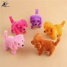 FF <b>Cute Walking Barking Toy</b> Funny Electric Short Floss Electric ...
