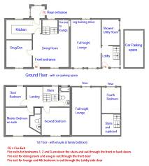 The Old Farmhouse Hawkshead   Floor Plan   The Old Farmhouse    The Old Farmhouse  Hawkshead   floor plans  please note these diagrams are not exactly to scale but do provide sufficient information to envisage the new
