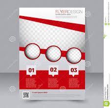 flyer template brochure design a4 business cover stock vector flyer template brochure design a4 business cover