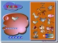 Resultat d'imatges de CLICA EL DIBUIX VOCALS