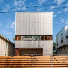 chameleon shotgun house is inspired by southern vernacular shotgun chameleon in houston texas by zdes