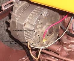 positive ground tractor wiring positive image alternator conversion on oliver 550 gas 1972 oliver cletrac on positive ground tractor wiring