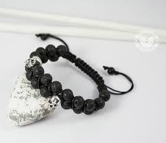 BS604 <b>Мужской браслет</b> шамбала с черепами, вулканическая ...