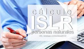 Resultado de imagen para declaración islr persona natural