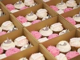 <b>Pink Princess</b> cupcakes for <b>Vera Wang</b> – Crumbs & Doilies