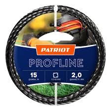 <b>Леска для триммеров PATRIOT</b> Profline d=2.0мм L=15м — купить ...