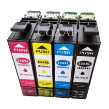 <b>4PK</b> Printer ink cartridge for <b>Compatible EPSON</b> XP 332a 325a ...