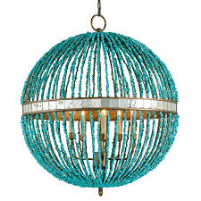 chandelier classic round shape with bohemian lighting