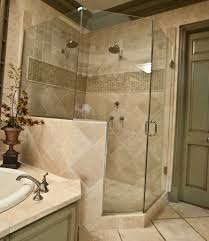 ideas small bathrooms shower sweet: bathroom luxurious shower room with simple shower and glass curtain side door plus sweet flowers