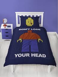 <b>Постельное белье LEGO</b> CLASSIC HEAD <b>LEGO</b> 9266021 в ...