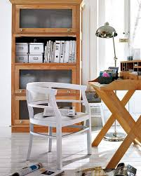 vintage shelving unit combined with a vintage deck that has some storage compartments could hold lots bookcases for home office
