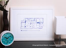 Brady Bunch house floor planBrady Bunch house floor plan image