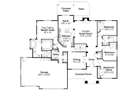 Craftsman House Plans   Goldendale     Associated DesignsCraftsman House Plan   Goldendale     Floor Plan