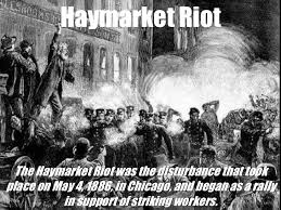 「1886 Haymarket affair」の画像検索結果