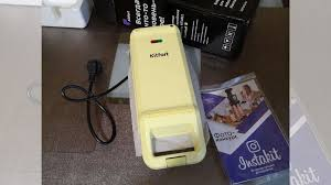 Новая <b>вафельница Kitfort KT-1611</b> желтая купить в Москве ...