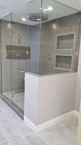 ideas shower systems pinterest: we upgraded this s style bathroom to a modern design wed love to
