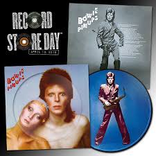 <b>Pin</b> Ups picture disc for RSD 2019 — <b>David Bowie</b>