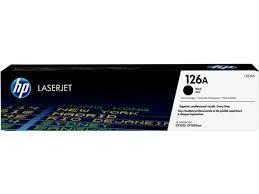 <b>HP 126A</b>, Оригинальный лазерный <b>картридж HP</b> LaserJet, Черный