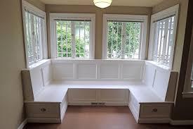 diy window seat storage bay window seat
