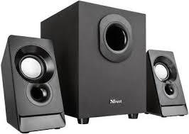 <b>Argo 2.1 Subwoofer Speaker</b> Set, Black - <b>TRUST</b> | eBay