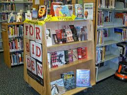 children s publishing banned books week blog posts along each year s display i include banned book lists and pamphlets as well as bookmarks and buttons for library customers to take home