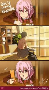 In A Parallel World... (Anime: Guilty Crown) by elegantking - Meme ... via Relatably.com