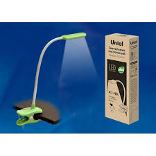 <b>Настольная лампа</b> (UL-00003647) <b>Uniel TLD</b>-<b>554</b> Green/LED ...