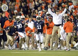 chris davis doesn t want career defined by one play usa today auburn tigers cornerback chris davis 11 scores a 100 yard touchdown on a missed