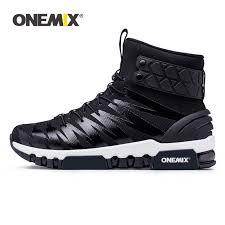 <b>ONEMIX</b> Men Boots <b>Running</b> Shoes <b>Women</b> Sneakers High Top ...