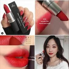 <b>MAC</b> COSMETICS Powder Kiss Lipstick : <b>Werk Werk Werk</b> | Shopee ...